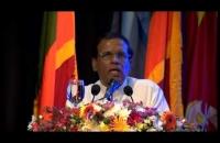 "President Maithripala Sirisena Speech - "" අපි වෙනුවෙන් අපි "" රණවිරු නිවාස ව්යාපෘතිය."