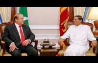 President Maithripala Sirisena met with the Prime Minister of Pakistan