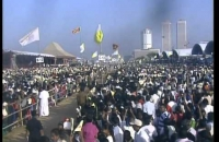 The main papal mass to be held at Galle Face Green this morning