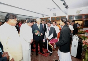 PM at Nagoda Royal College's Prize giving ceremony