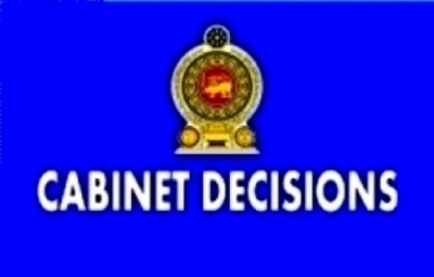 Decisions taken by the Cabinet of Ministers at the meeting held on 18-11-2015
