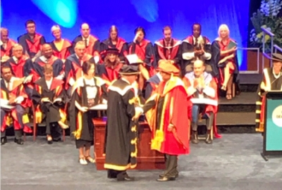 Honorary doctorate to PM from Deakin