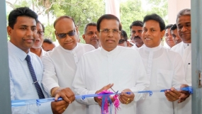 President launched several development projects at Polonnaruwa General Hospital