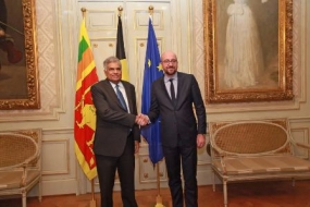 PM meets his Belgium counterpart in Brussels