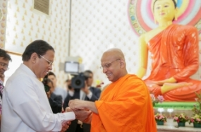 President visits Brick-fields Buddhist Temple in Malaysia
