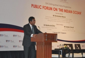 """Sri Lanka's Role in the Indian Ocean and the Changing Global Dynamic"""