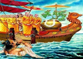 Today is Unduvap Poya day: Last Full Moon Poya day of the year