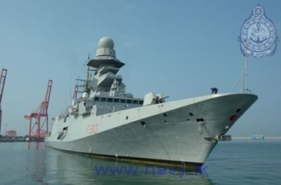 Italian Naval Ship 'Carabiniere' arrives in the island