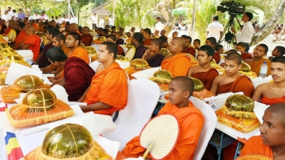Govt. will fulfill its responsibility of protecting and nourishing Buddhism -President