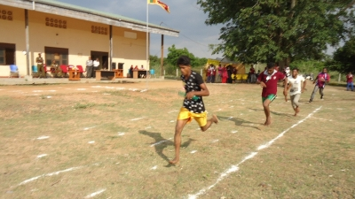 The First Inter house sport meets becomes colorful