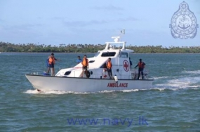 Ambulance water craft completes 100 journeys