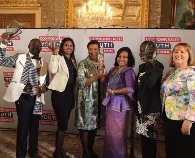 Sri Lankan youth wins the Commonwealth Young Person of the Year 2017 Award