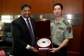 Chinese Defence Attaché meets State Minister