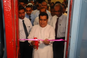 New train service from Colombo Fort to Matale