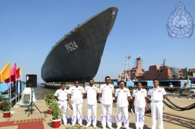 Re-docking of Navy's second Advanced Offshore Patrol Vessel