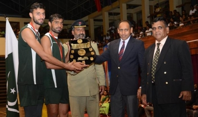 Pakistan Army Volleyball Team Wins Series against Sri Lankan Army Light