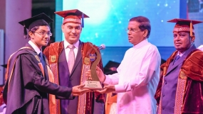 President Chief Guest at the SLIIT Convocation