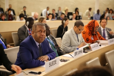 Statement by Mangala Samaraweera, at the 30th Session of the UNHRC, Geneva