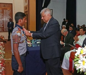Trinity College's prize giving ceremony held