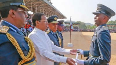 President instructs to get support from tri-forces for drought relief