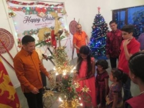 Christmas observed in Jakarta