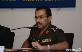 Omanthai Army camp not removed –Army spokesman