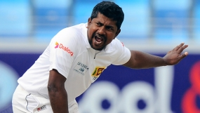 Rangana Herath completes 300 wickets in Test Cricket