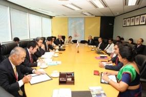 BOI hosted Japanese business delegation