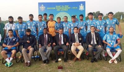 Pakistan Air Force wins Football series against Sri Lankan counterparts