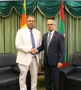 Foreign Minister meets his Maldivian Counterpart