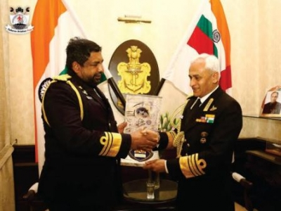 Navy Commander visits India: Focuses on exploring new avenues for naval cooperation