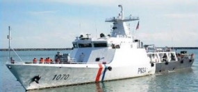 Pakistan Maritime Security Ships on a goodwill visit in Sri Lanka