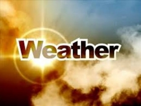 Cloudy skies expected today