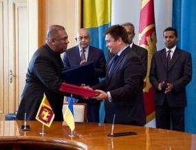 Three treaties signed between Sri Lanka and Ukraine