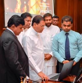 President launches website on 14th UN International Vesak Festival