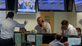 UK shares and pound continue to fall