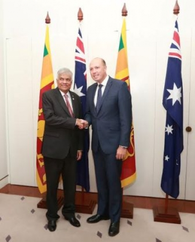 PM meets Australian minister for Immigration and Border Protection