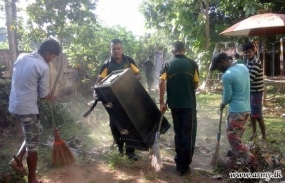 Army checks Jaffna schools for Dengue