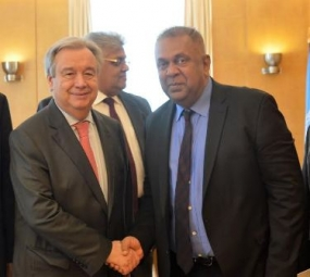 Foreign Minister meets UN Chief