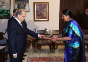 Ambassador to Lebanon presents Credentials