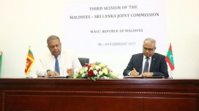 Third Session of Maldives-Sri Lanka Joint Commission held