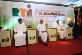 RTI should commence in every sector – President