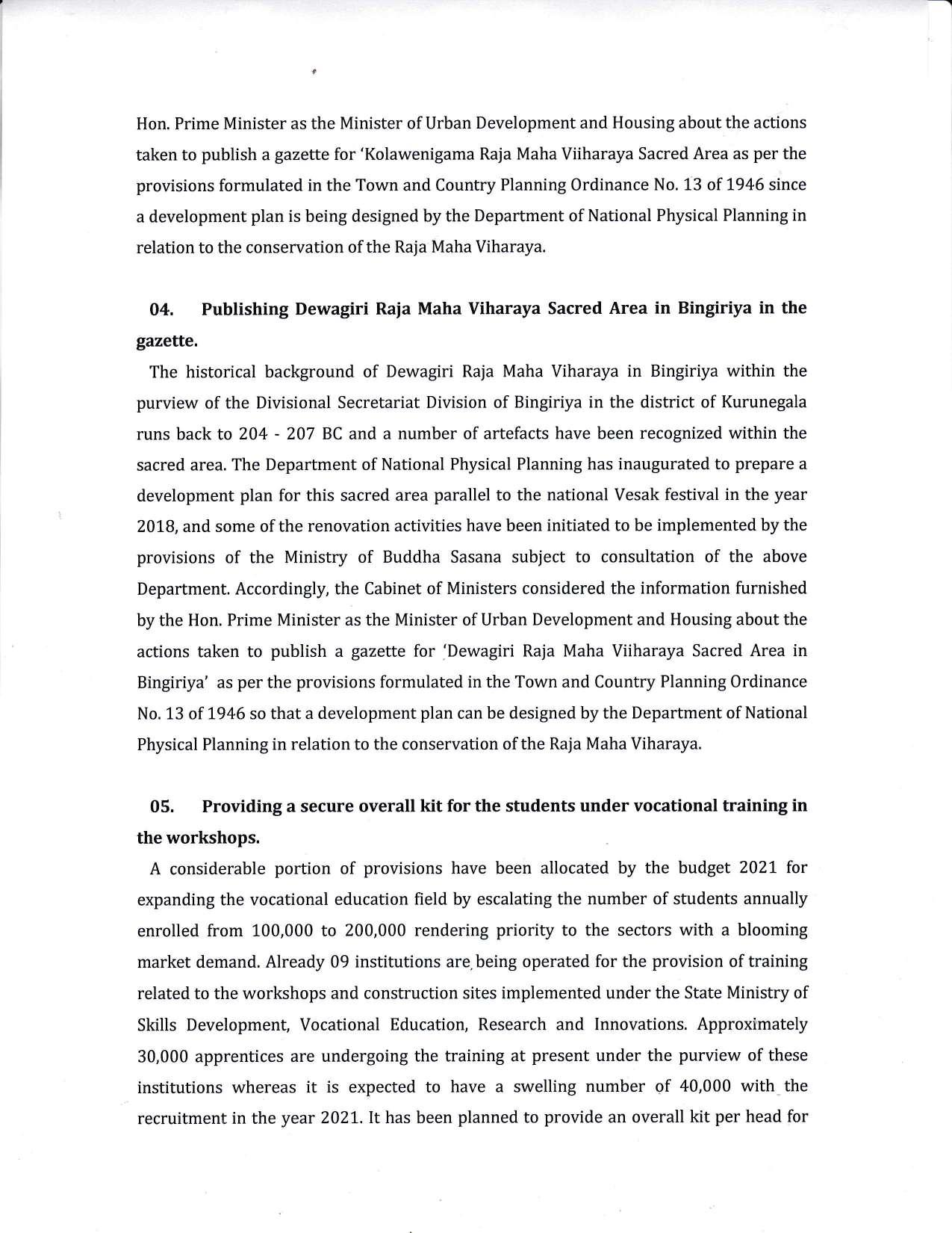 Cabinet Decision on 21.12.2020 English page 002