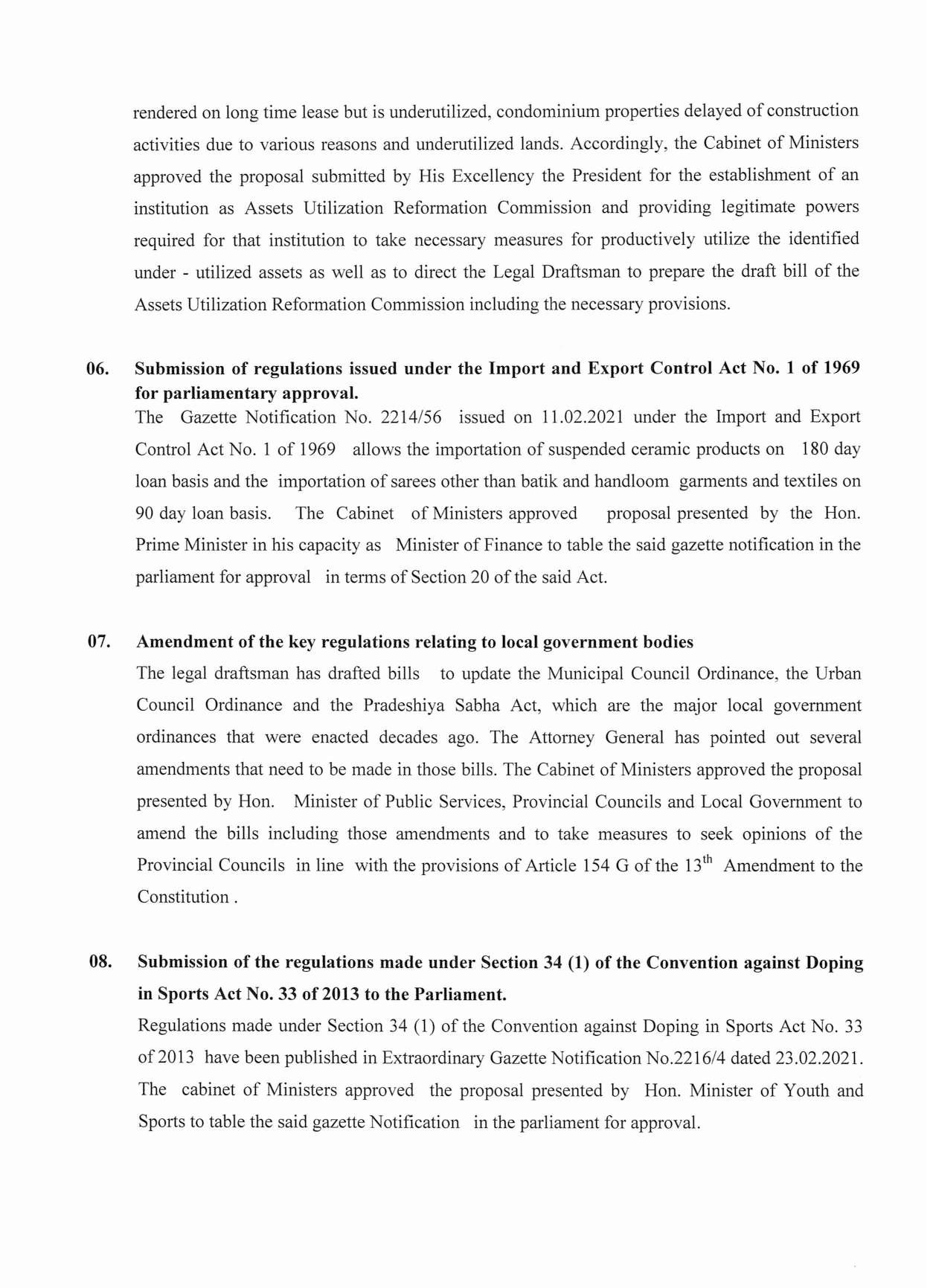 Cabinet Decision on 23.03.2021 English page 003