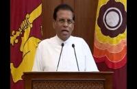 President Maithripala Sirisena's Special Statement