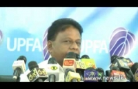 S L F P  Press Briefing 2014 12 03 Hon  Min Dullas Alahapperuma