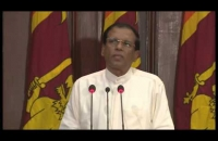 President Maithripala Sirisena Speech - New State Ministers and Deputy Ministers were sworn in event