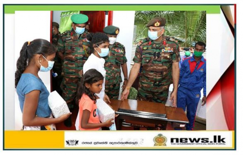 Jaffna Security Forces with Donors Build One More New House for a Needy Family