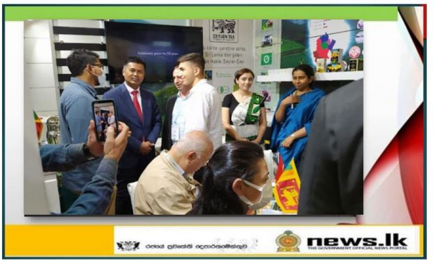 Ceylon Tea, Spices and Cashew attracts at World Food Istanbul trade fair