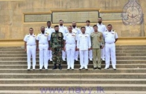 Sri Lanka – Pakistan Navy staff talks take naval relations to new highs